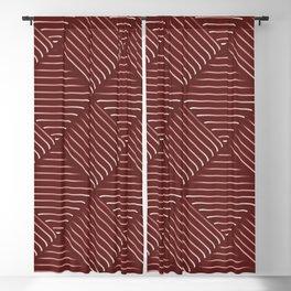 Diagonal Stripes Background 30 Blackout Curtain