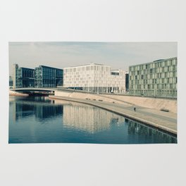 ALONG THE SPREE / Berlin, Germany Rug