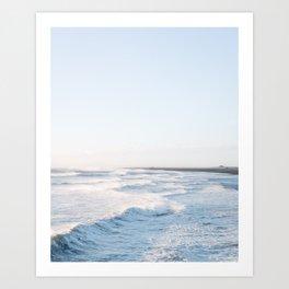 Golden waves - Iceland   landscape - photography - travel - nature - print - photo Art Print