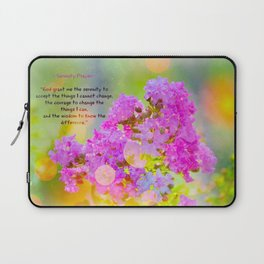 Serenity Prayer - II Laptop Sleeve