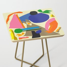 Abstract morning Side Table