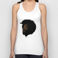 tupac Tank Tops featuring Questlove 2.0 by The Art Warriors
