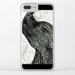 Little Wolfie Clear iPhone Case
