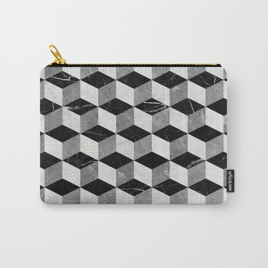 Marble Cubes  Carry-All Pouch
