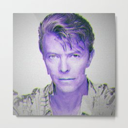 Bowie Metal Print