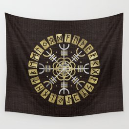 The helm of awe Wall Tapestry