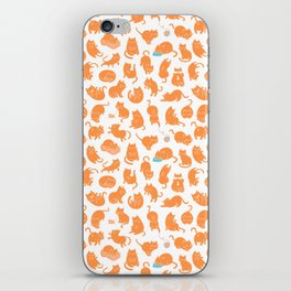 Meowers Cat Pattern iPhone Skin