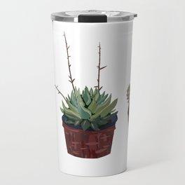 Succulentes Succulents Travel Mug