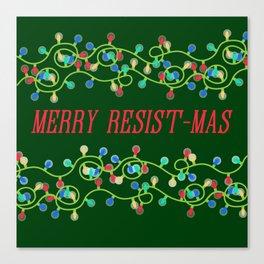 Merry Resistmas Canvas Print