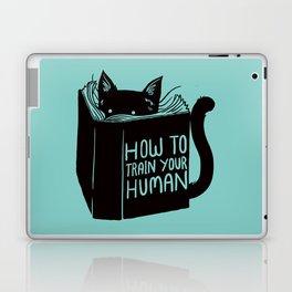 Cat Reader Advice Laptop & iPad Skin