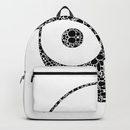 Perfect Balance 1 - Yin and Yang Stone Rock'd Art by Sharon Cummings Backpack
