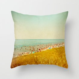The Last Day of Summer Throw Pillow