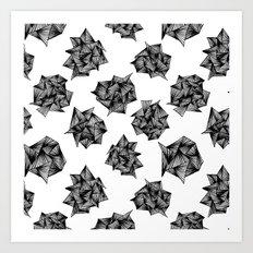 Spike Clusters Art Print