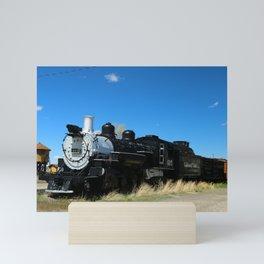 Denver & Rio Grande Steam Engine Mini Art Print