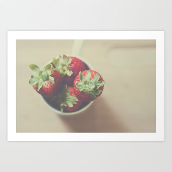 Summerberries Art Print