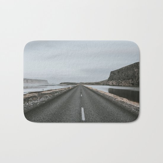 Empty Road - A Love Story Bath Mat