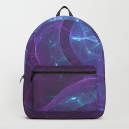 Blue Eye of the Purple Dragon Backpack