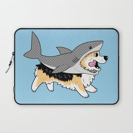 Another Corgi in a Shark Suit Laptop Sleeve