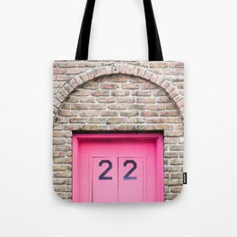 Door Number 22 Tote Bag