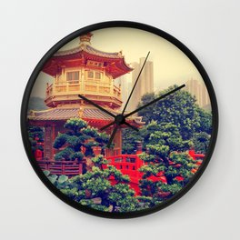 Hong Kong Oasis Wall Clock