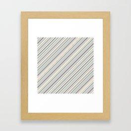 Just Stripes 5 Framed Art Print