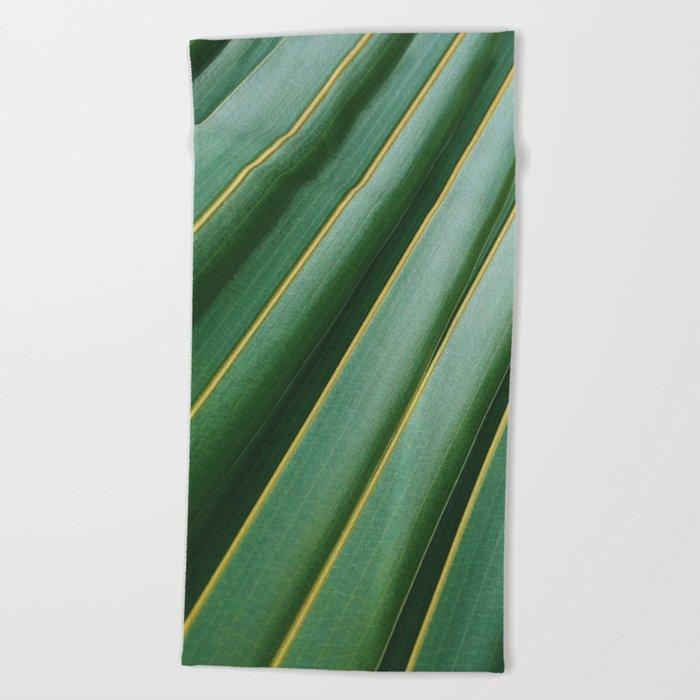 Palm Love Beach Towel