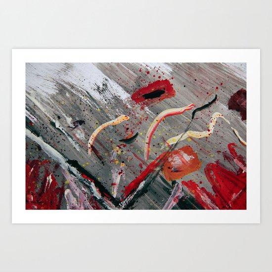 100 Prozent Kunst 4 Art Print