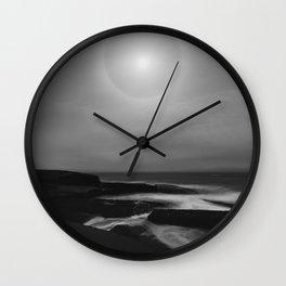 Lunar Coast Wall Clock