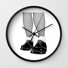 Skinhead Girl design - Skinhead Clothing 1969 Wall Clock