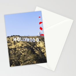 Hollywood Sign Stationery Cards