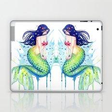Mermaid Splash Laptop & iPad Skin