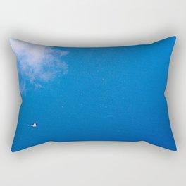 Le Grand Bleu Rectangular Pillow
