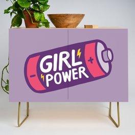 Girl Power Credenza