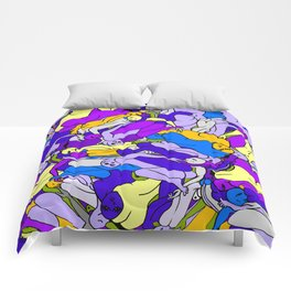 Sleeping Bodies - Ultraviolet Infusion Comforters
