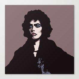 Frank-N-Furter. Sweet transvestite. Canvas Print