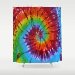 Tie Dye 004 Shower Curtain
