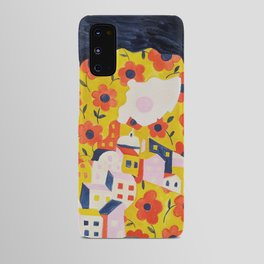 Flower Woman Android Case
