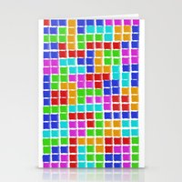 tetris Stationery Cards featuring Tetris by MarioGuti