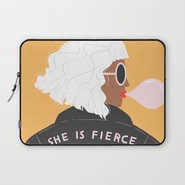 She Is Fierce Laptop Sleeve
