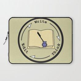 Write - Think - Edit Laptop Sleeve