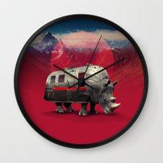 Rhino Wall Clock
