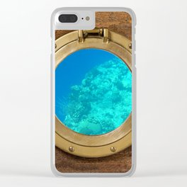 Underwater View Clear iPhone Case