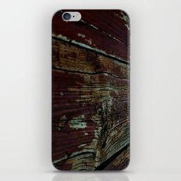 Vinage Wood iPhone Skin