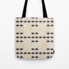 Diamond Stripes Tote Bag