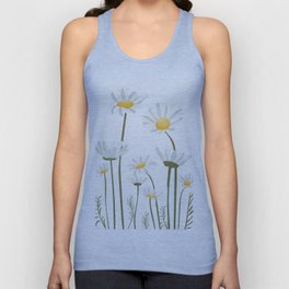 Summer Flowers III Unisex Tank Top