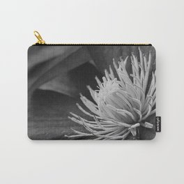 Clematis in black and white Carry-All Pouch