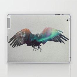Eagle In The Aurora Borealis Laptop & iPad Skin