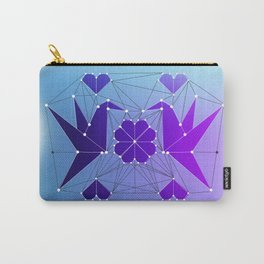 Origami Hummingbirds Carry-All Pouch
