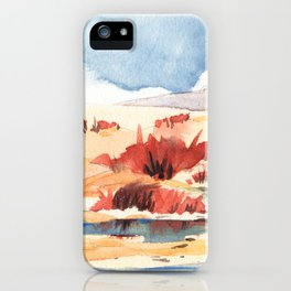 Bay Farm Marshlands iPhone Case