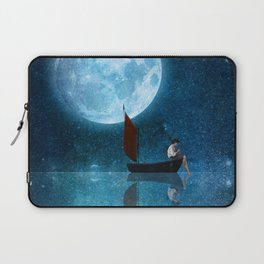 The Moon and Me Laptop Sleeve